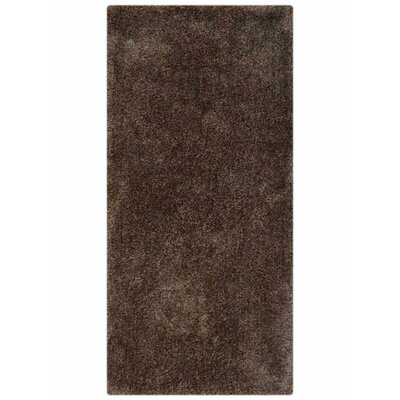 Henricks Hand-Tufted Gray Area Rug Rug Size: Runner 26 x 8