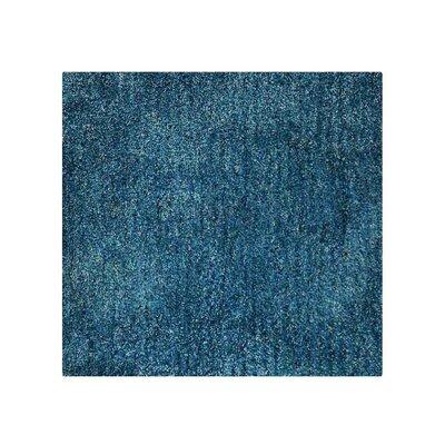 Henricks Hand-Tufted Blue Area Rug