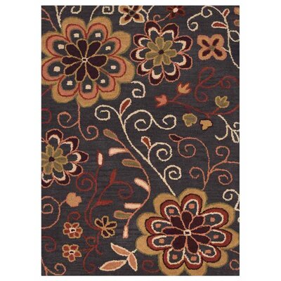 Campas Hand-Tufted Brown Area Rug Rug Size: Rectangle 4 x 61