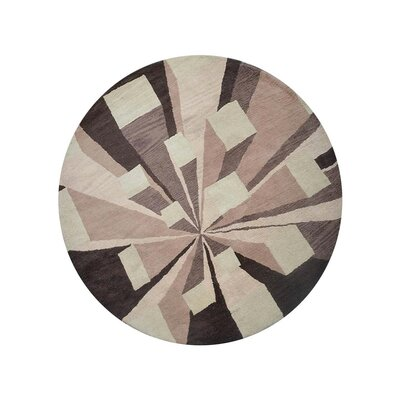 Hultgren Hand-Tufted Brown/Beige Area Rug
