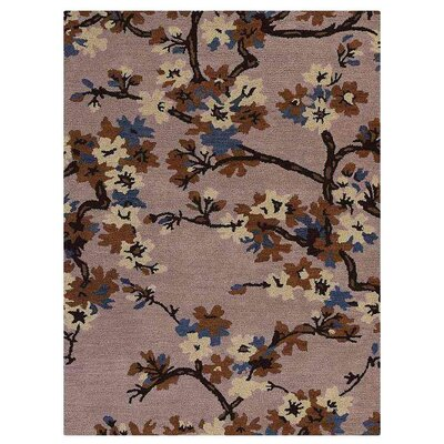 Creamer Hand-Tufted Wool/Cotton Beige Area Rug Rug Size: Rectangle 4 x 6