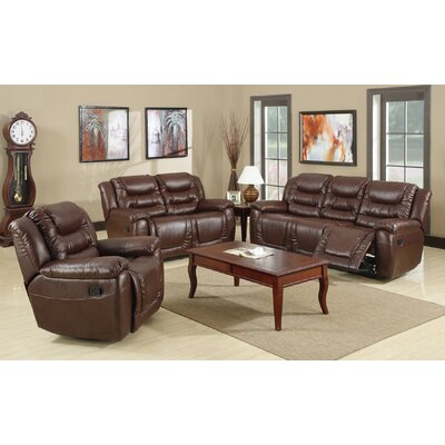 Faulks 3 Piece Living Room Set