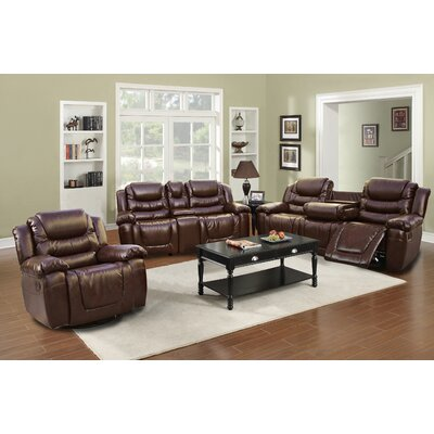 Strobel 3 Piece Living Room Set