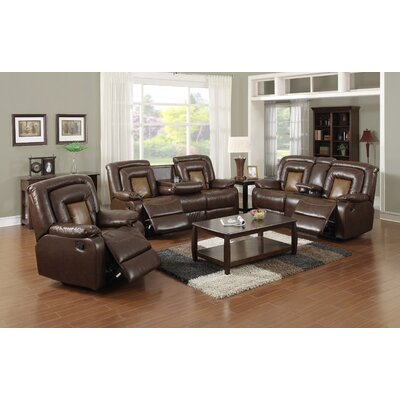 Strock 3 Piece Living Room Set