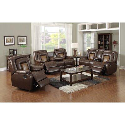 Strock 3 Piece Living Room Set