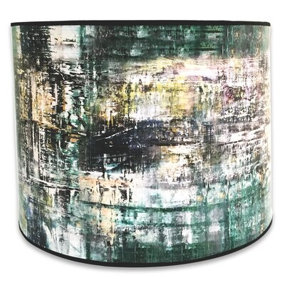 Modern Trendy Decorative Handmade 10 Paper Drum Lamp Shade