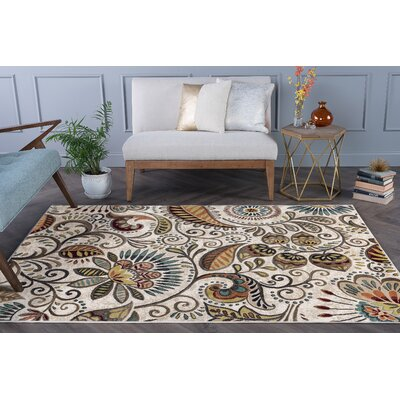 Concord Ivory Area Rug Rug Size: Rectangle 7 x 10