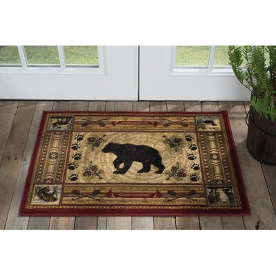 Russel Brown Area Rug Rug Size: Rectangle 2 x 3