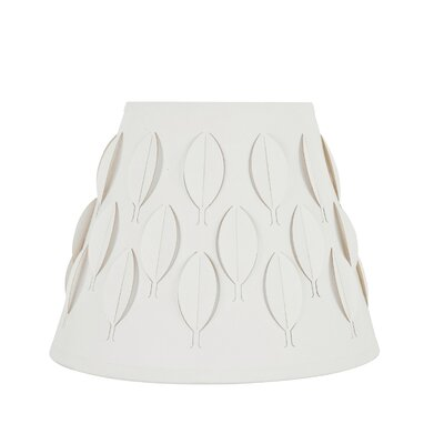 Transitional Spider Construction 9 Fabric Empire Lamp Shade