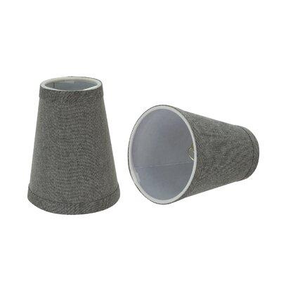 Small Clip-On 4 Fabric Empire Candelabra Shade