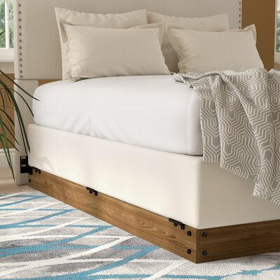 Winston Wood Bed Frame for Box Spring Size: Queen