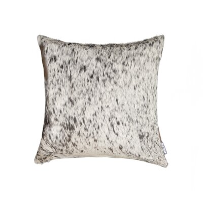 Oberry Leather Throw Pillow