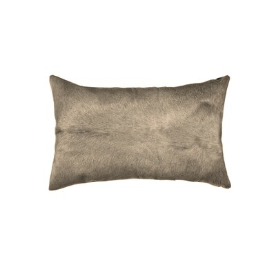 Oberry Leather Lumbar Pillow