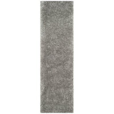 Hermina Silver Area Rug Rug Size: Runner 23 x 8