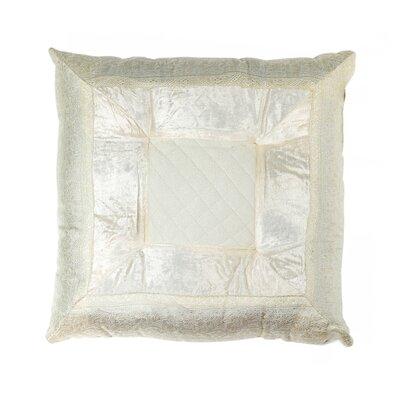 Encina Silk Throw Pillow Color: Off White