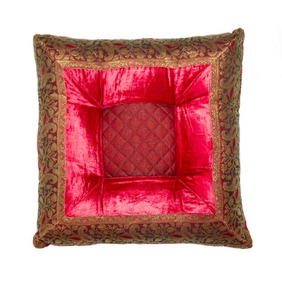 Melville Silk Throw Pillow
