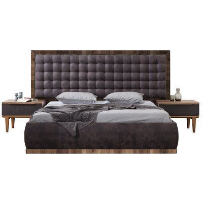 Keim Upholstered Platform Bed Size: Queen