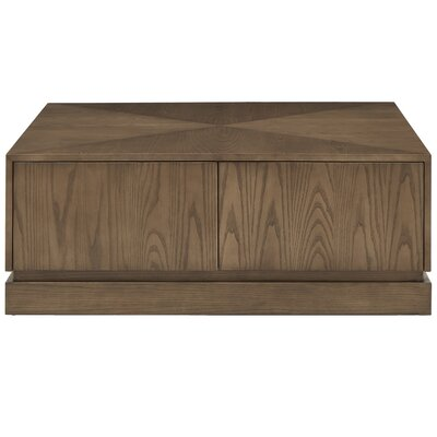 Hayse Coffee Table Color: Walnut