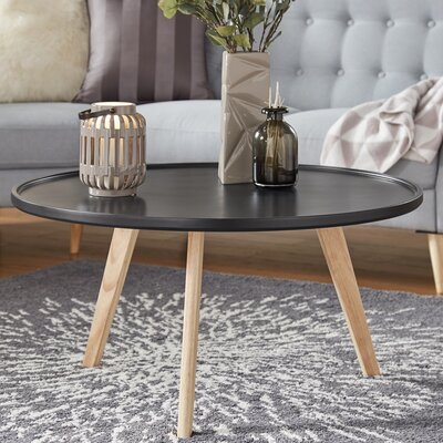 Swofford Coffee Table Table Top Color: Vulcan Black