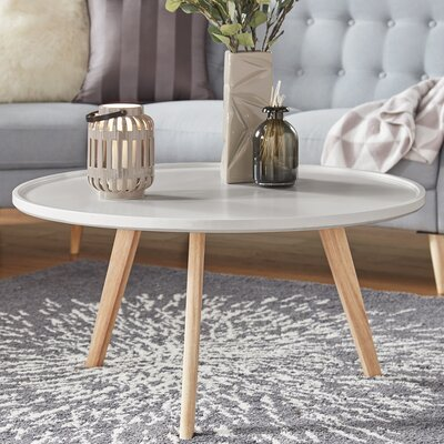 Swofford Coffee Table Table Top Color: Silver Birch