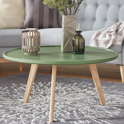 Swofford Coffee Table Table Top Color: Meadow Green