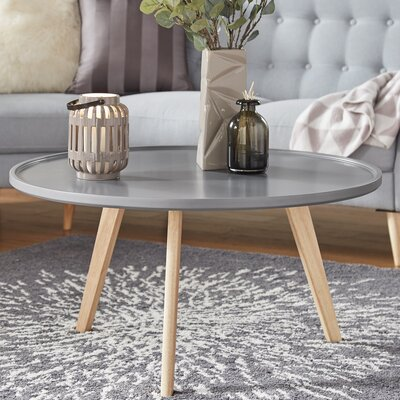 Swofford Coffee Table Table Top Color: Frost Gray