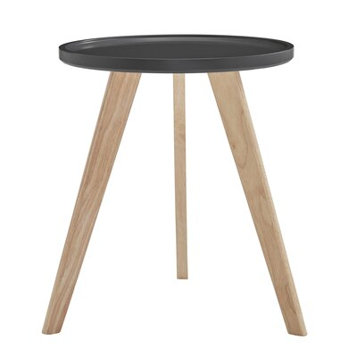 Swofford End Table Table Top Color: Vulcan Black