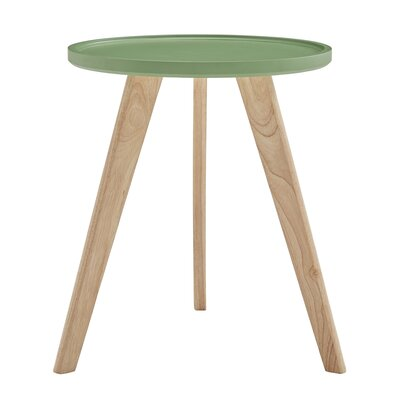 Swofford End Table Table Top Color: Meadow Green
