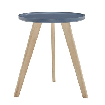 Swofford End Table Table Top Color: Blue Steel