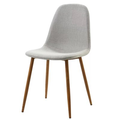 Westfall Upholstered Dining Chair Color: Light Gray