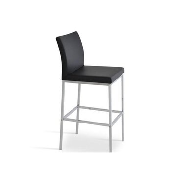 Plowman 30 Bar Stool Color: Black