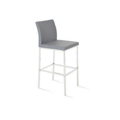 Plowman 30 Bar Stool Color: Gray