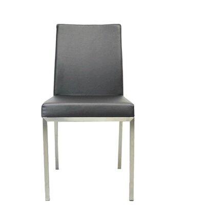 Bruckner Upholstered Dining Chair Color: Gray
