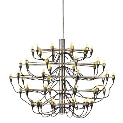 Bacchus Candle-Style Chandelier