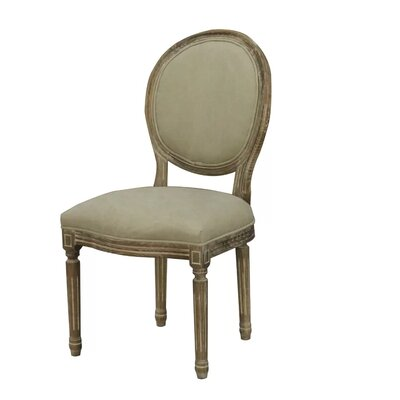 Letitia Upholstered Dining Chair Color: Beige