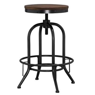 Alvord Adjustable Height Bar Stool