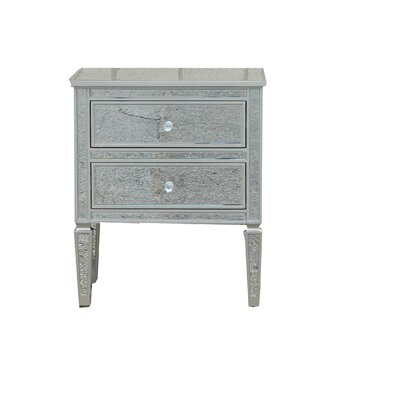 Brooksland 2 Drawer Night Stand
