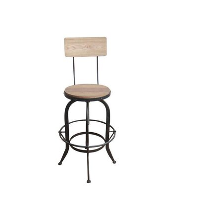 Lansdown Adjustable Height Swiel Bar Stool