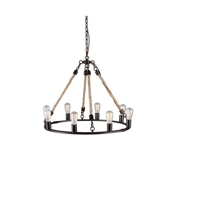 Lanning 8-Light Candle-Style Chandelier