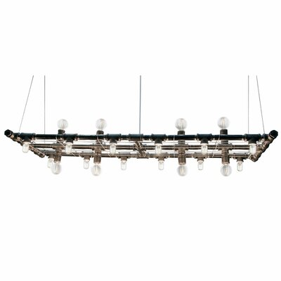 Adelita 20-Light Geometric Pendant