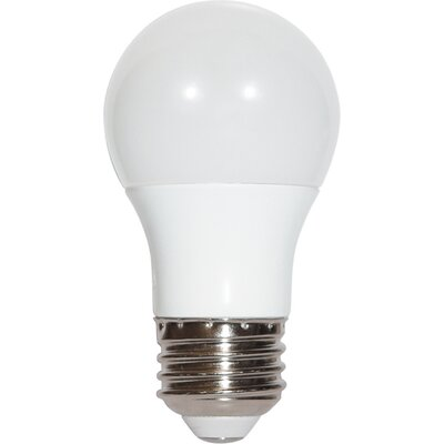 6W E26 Medium Standard LED Light Bulb Bulb Temperature: 2700K