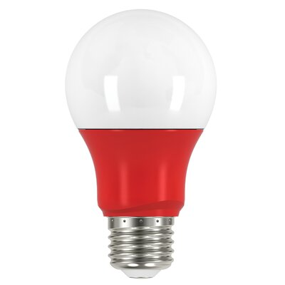 2W E26 Medium Standard Yellow LED Light Bulb Bulb Color: Red