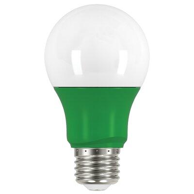 2W E26 Medium Standard Yellow LED Light Bulb Bulb Color: Green