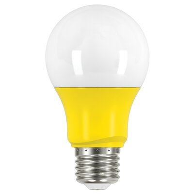 2W E26 Medium Standard Yellow LED Light Bulb Bulb Color: Yellow
