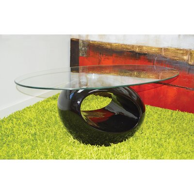 Delphina Coffee Table Table Base Color: Black