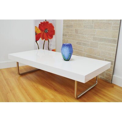 Castonguay Coffee Table Table Top Color: White