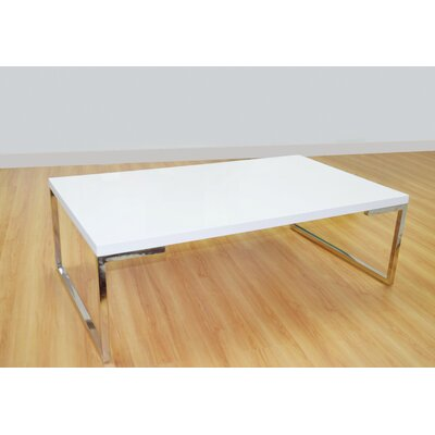 Calcote Coffee Table Table Top Color: White