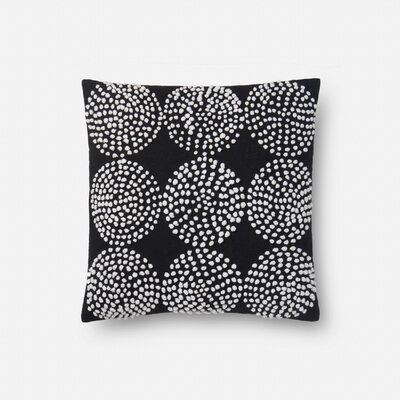 100% Cotton Pillow Type: Throw Pillow, Fill Material: Polyester