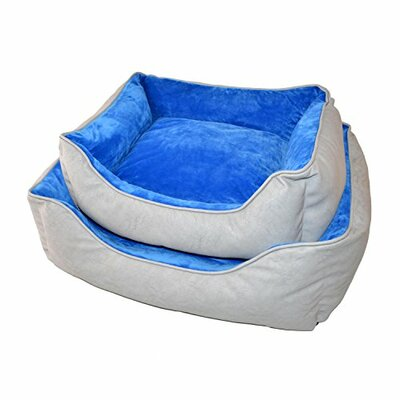 2 Piece Pet Bolster Set with Warm Cushion