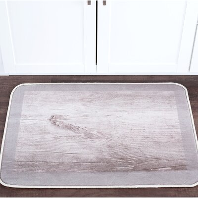 Sheffield Dockwood Foam Core Bath Rug Size: 24 W x 36 L